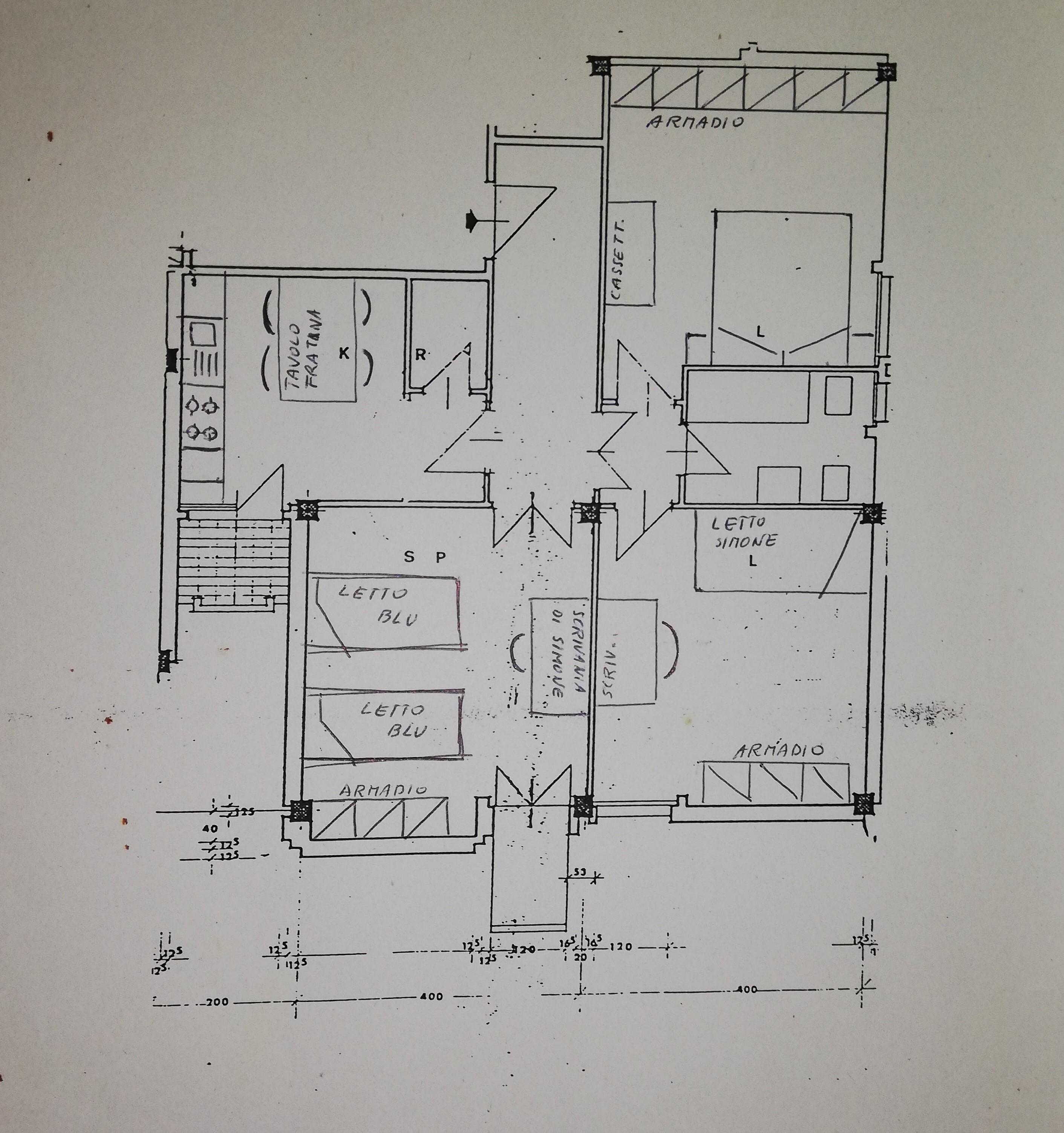 Planimetria 1/1 per rif. MQ-1C1055
