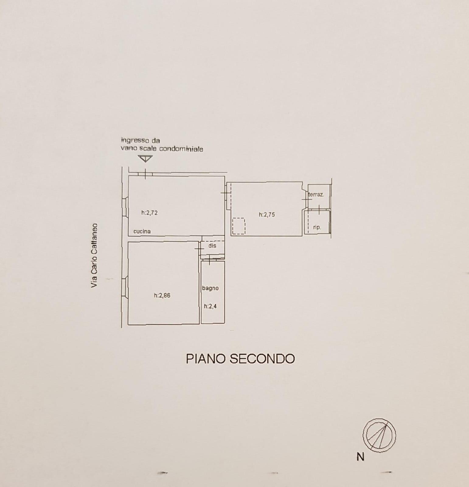 Planimetria 1/1 per rif. MQ-2746
