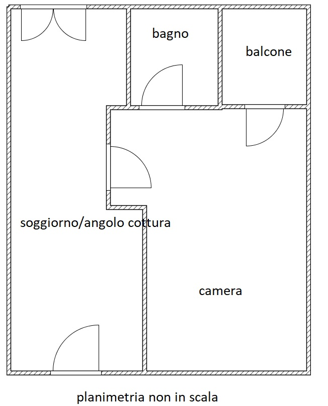 Planimetria 1/1 per rif. MQ-2850
