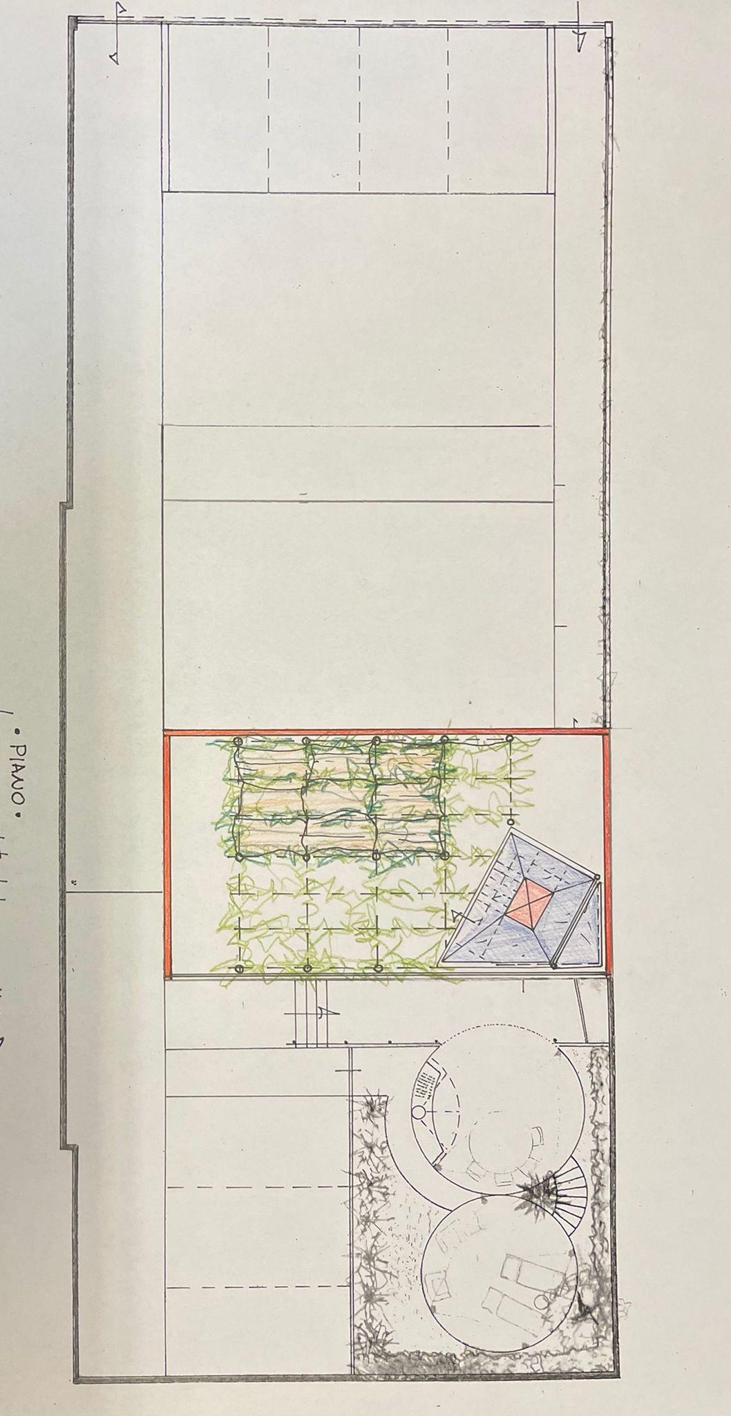 Planimetria 1/2 per rif. MQ-2948