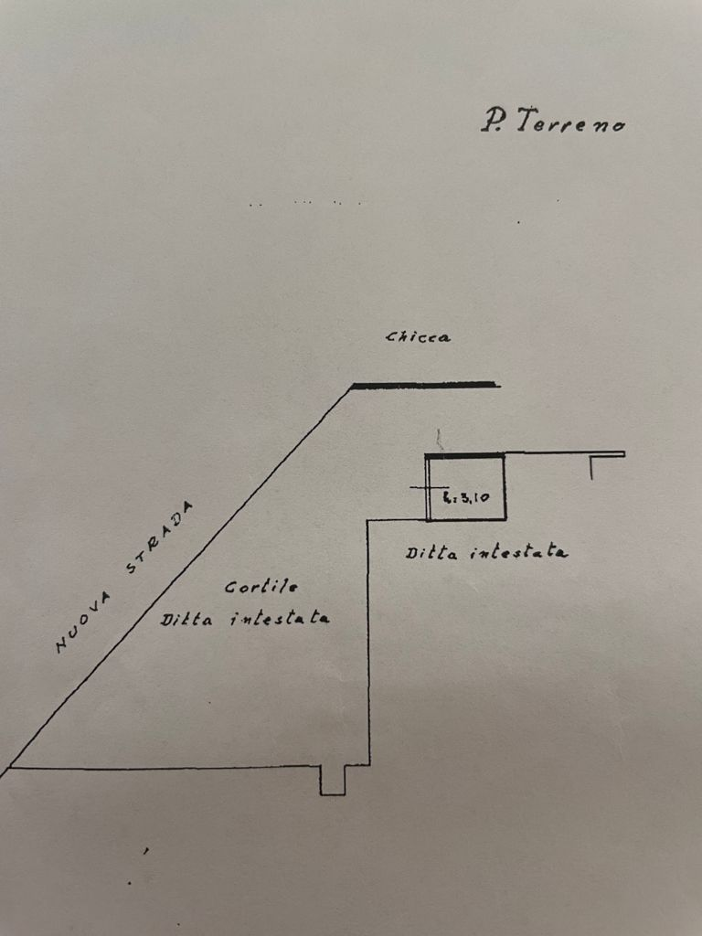 Planimetria 2/2 per rif. MQ-2952