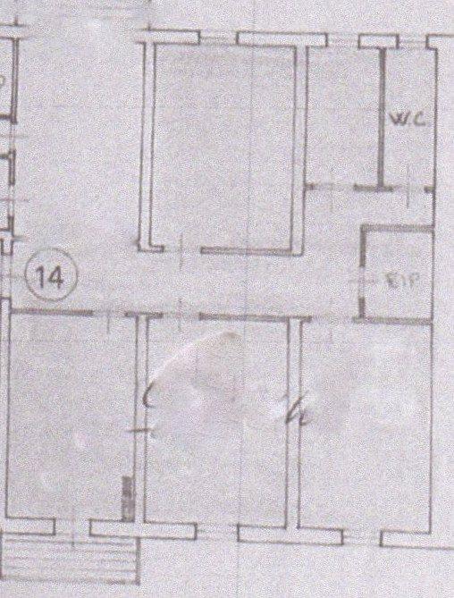 Planimetria /1 per rif. 407