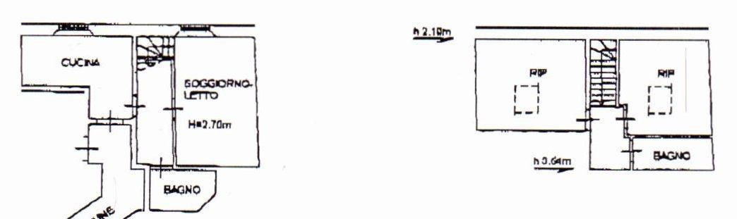 Planimetria /1 per rif. 1177