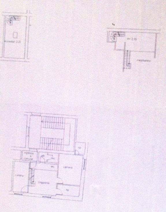 Planimetria /1 per rif. 1196