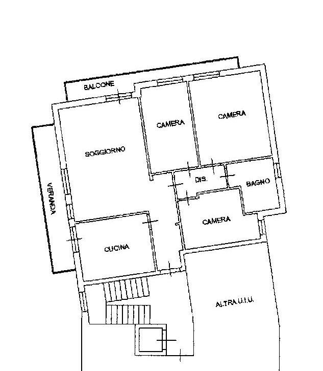 Planimetria 1/1 per rif. 522