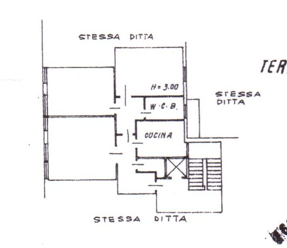 Planimetria /1 per rif. 538