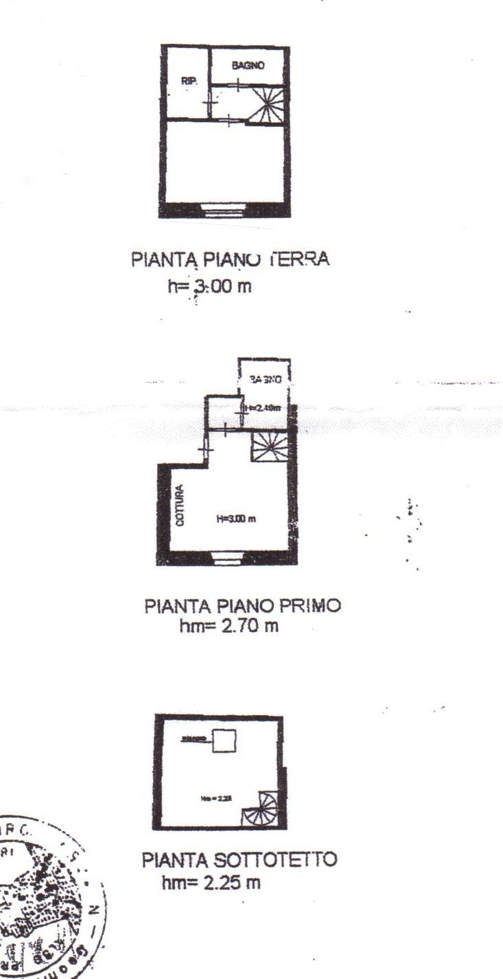 Planimetria /1 per rif. 544