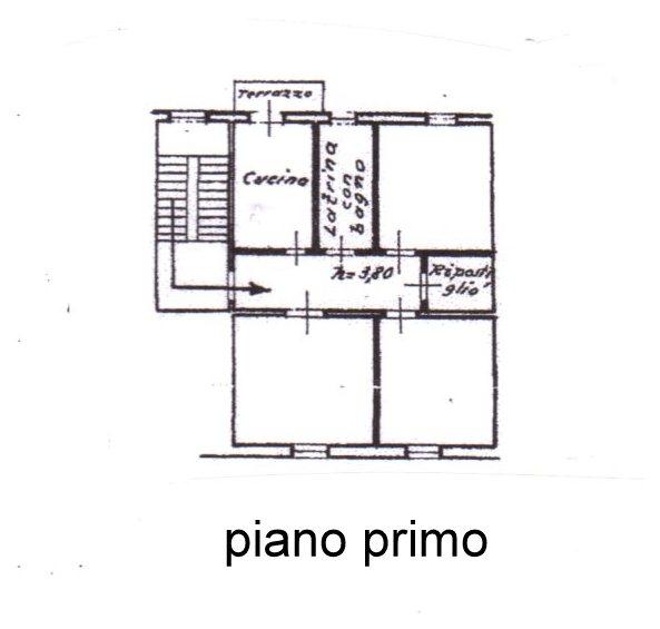 Planimetria /1 per rif. 580