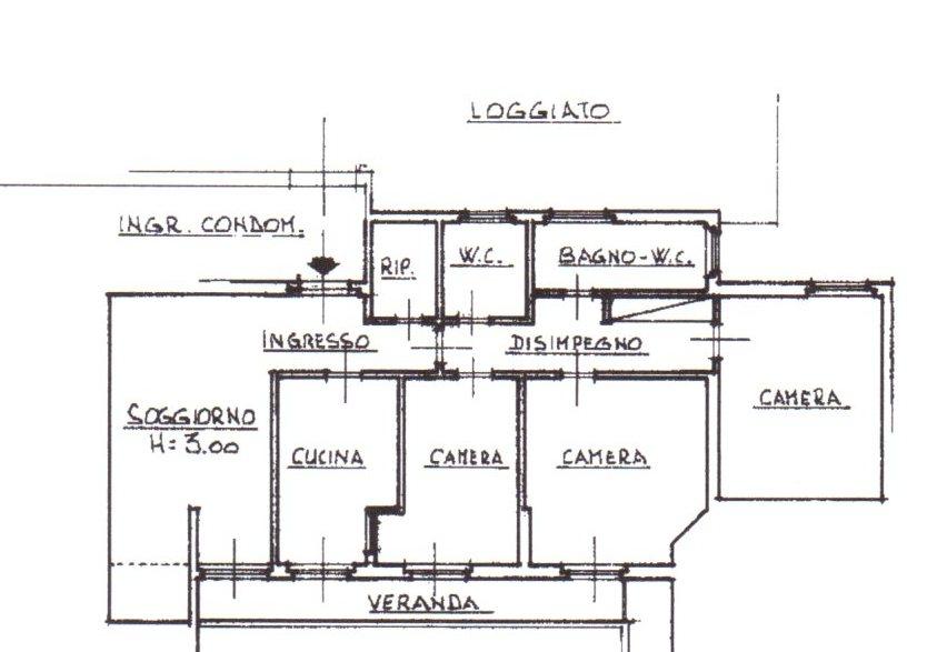 Planimetria /1 per rif. 1173