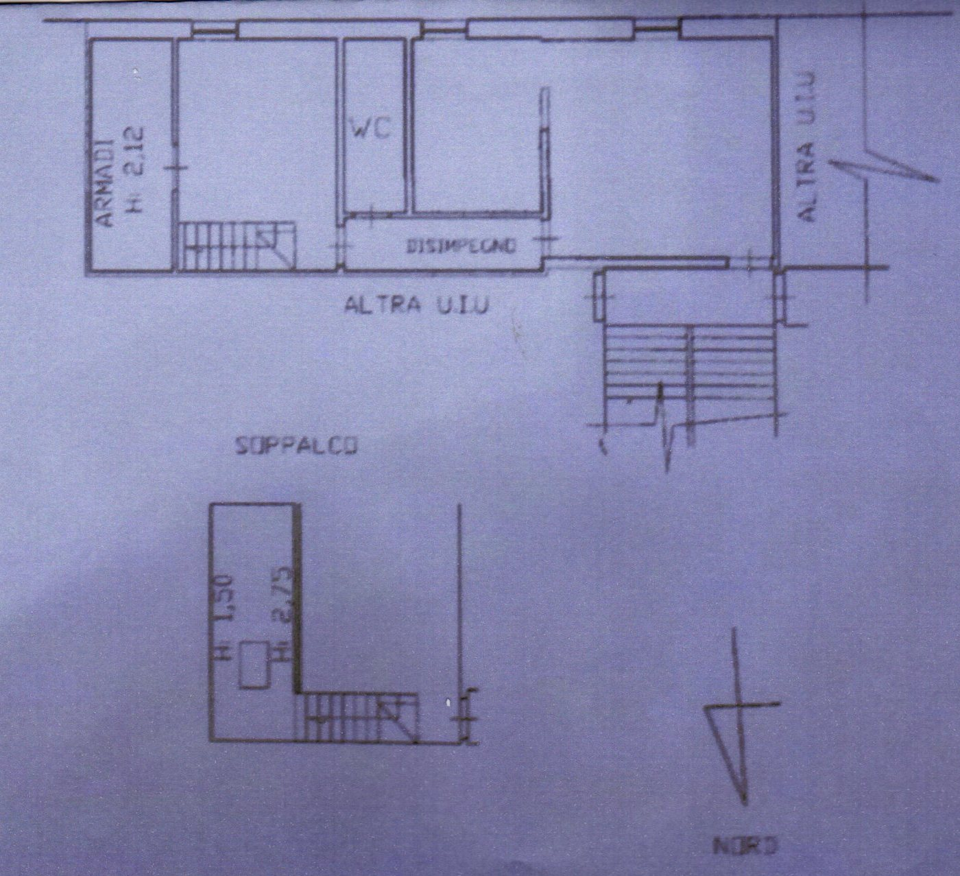 Planimetria /1 per rif. 1195