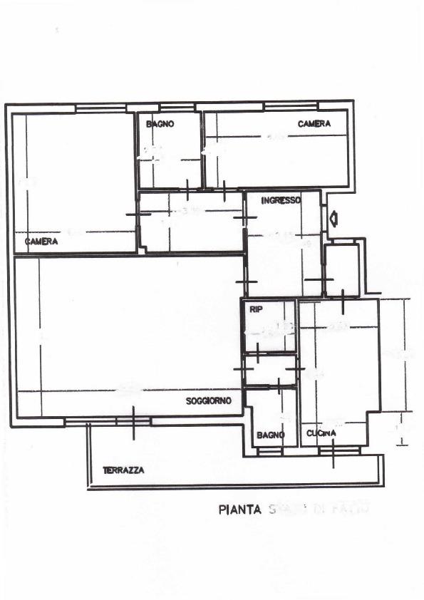 Planimetria /1 per rif. 1158