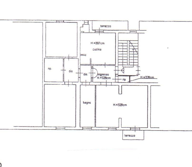 Planimetria /1 per rif. 623