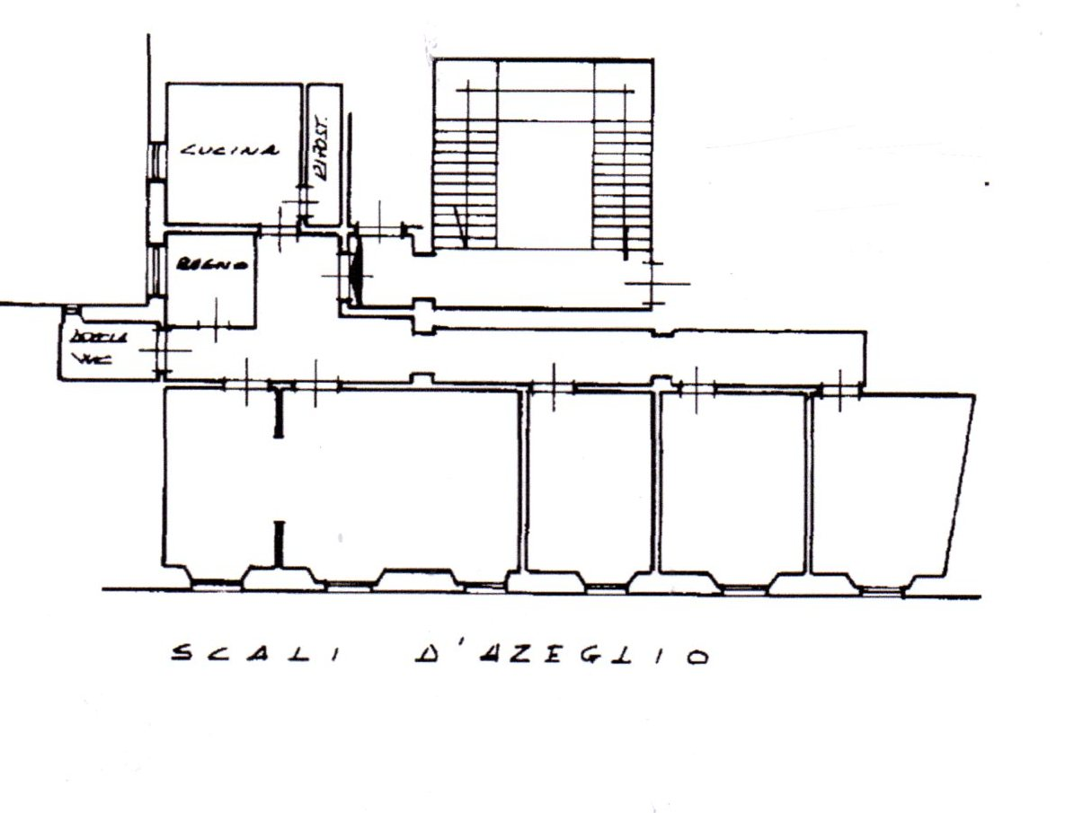Planimetria /1 per rif. 1198