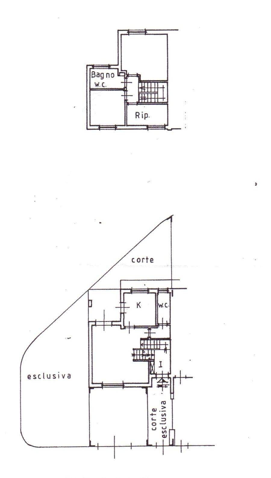 Planimetria /1 per rif. 880