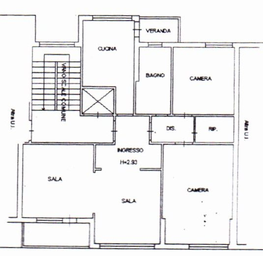Planimetria /1 per rif. 898