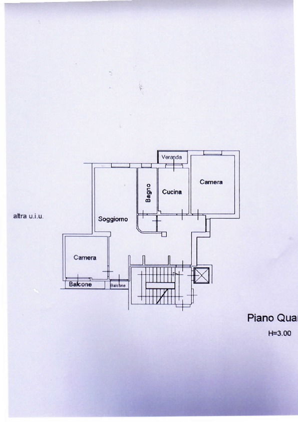Planimetria /1 per rif. 926