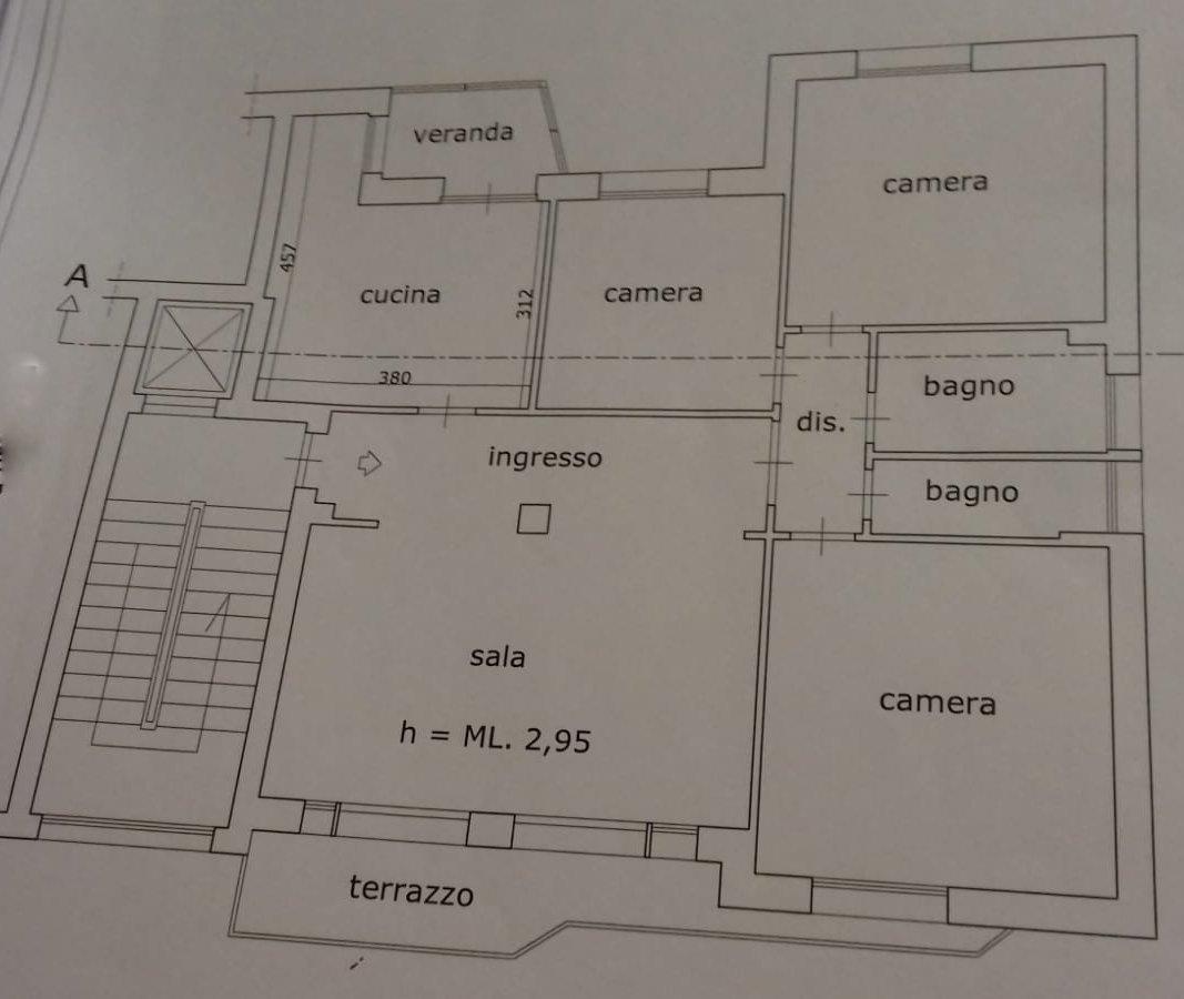 Planimetria /1 per rif. 937