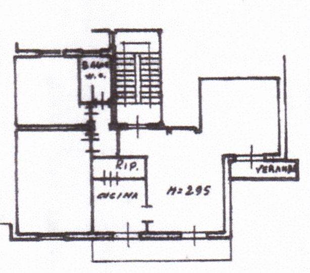 Planimetria /1 per rif. 941