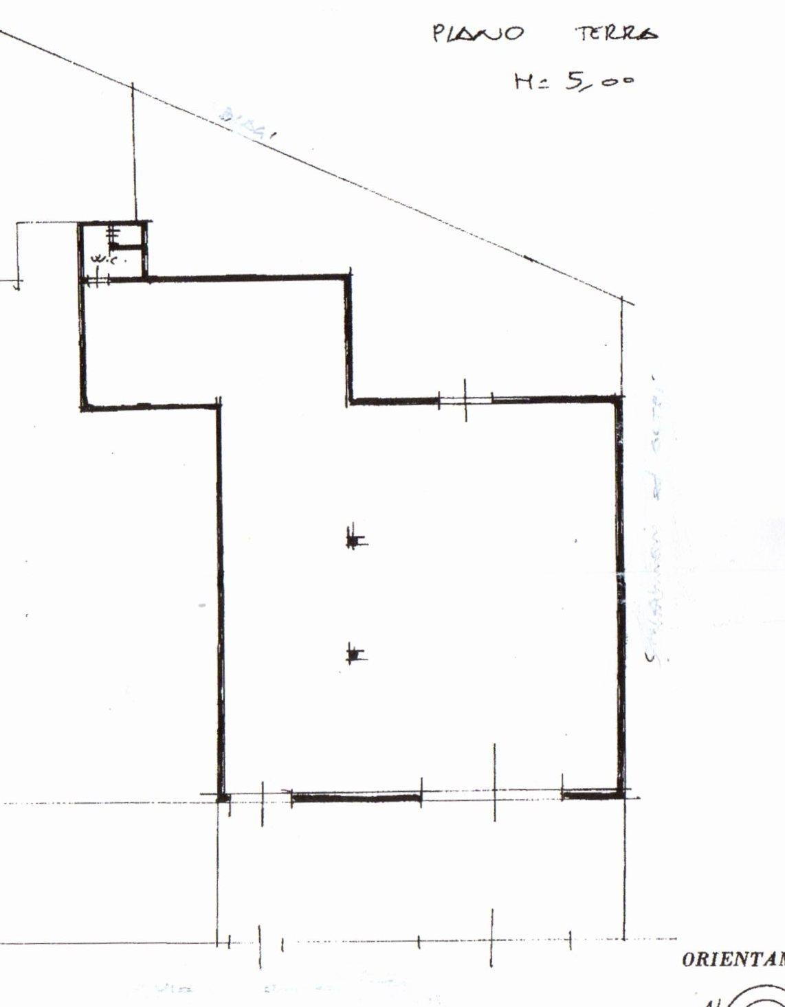 Planimetria /1 per rif. 944