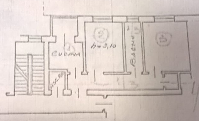 Planimetria /1 per rif. 970