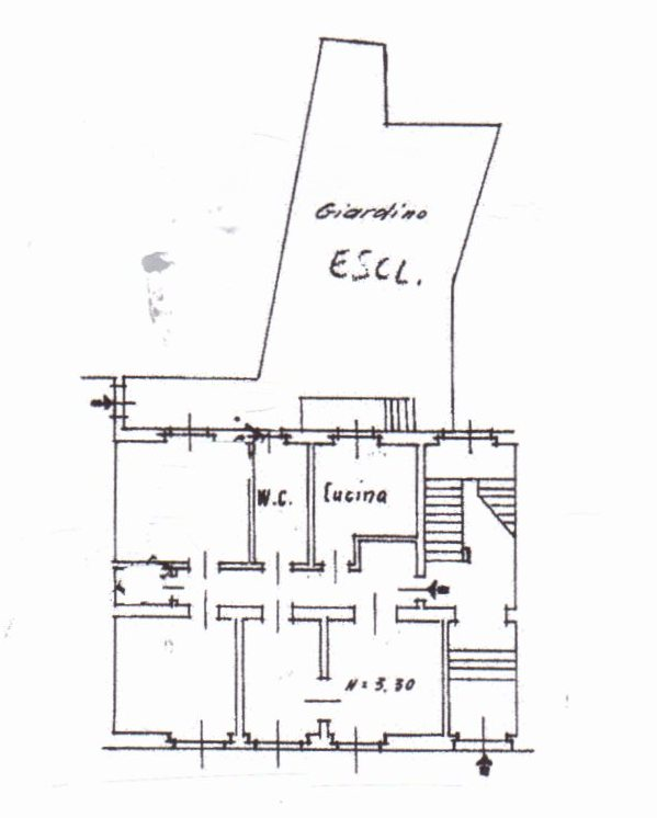 Planimetria /1 per rif. 983