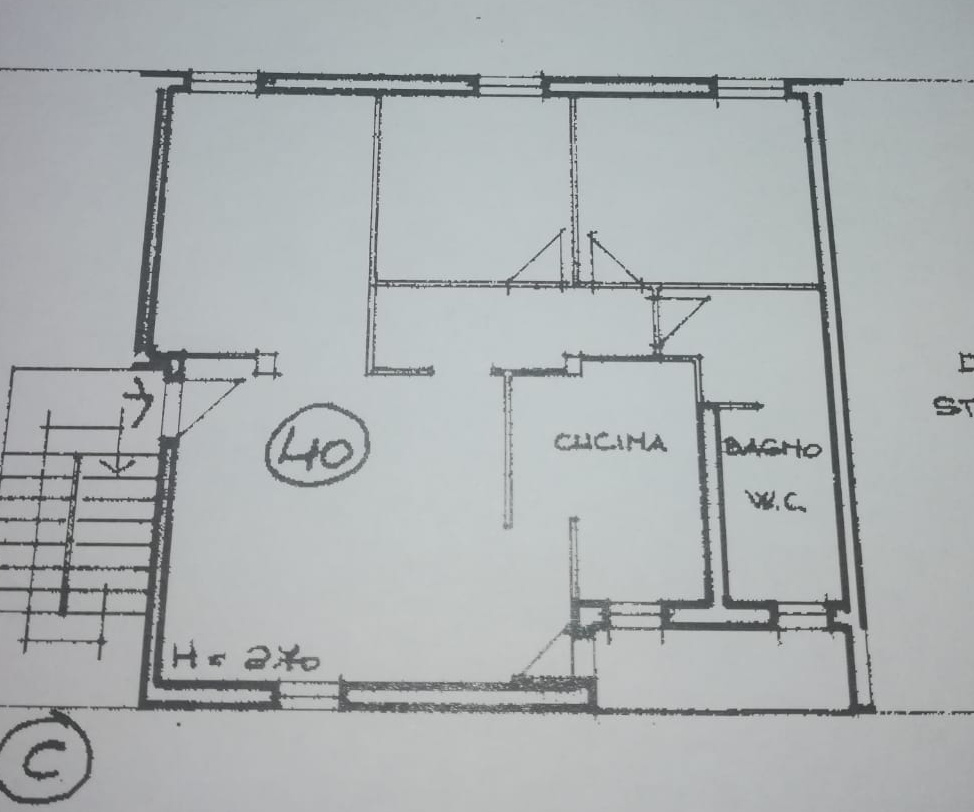 Planimetria /1 per rif. 993