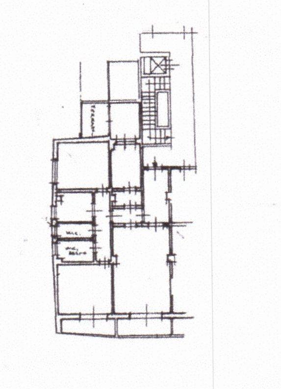 Planimetria /1 per rif. 1186