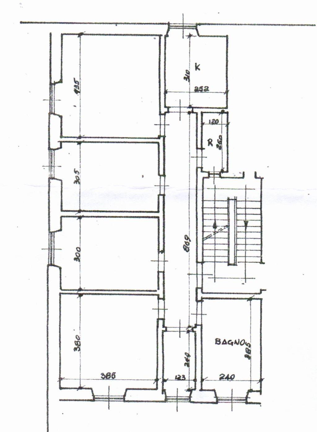 Planimetria /1 per rif. 1200