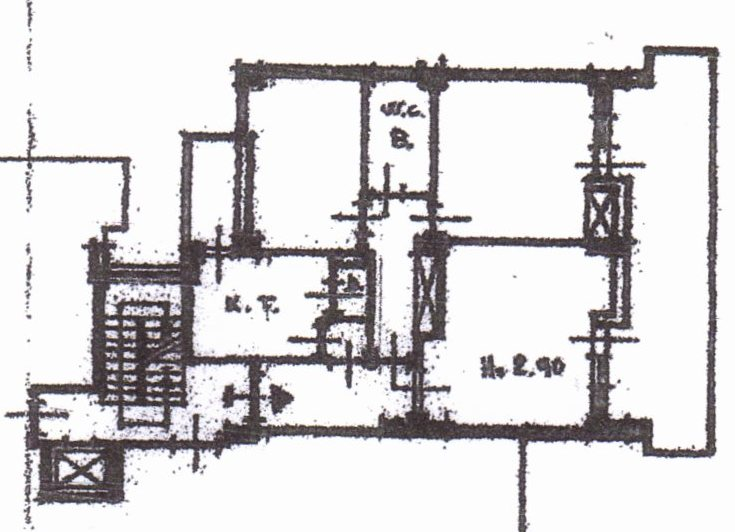 Planimetria /1 per rif. 1066