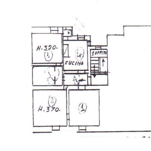 Planimetria /1 per rif. 1225