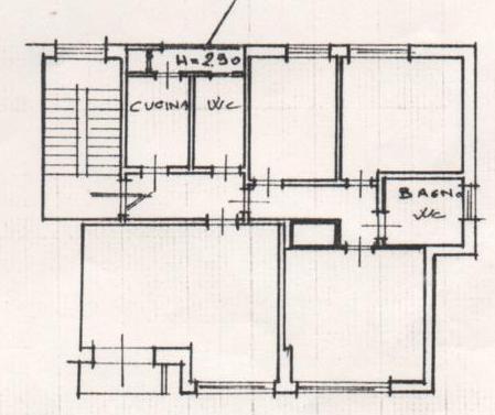 Planimetria /2 per rif. 1084