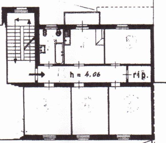 Planimetria /1 per rif. 1107