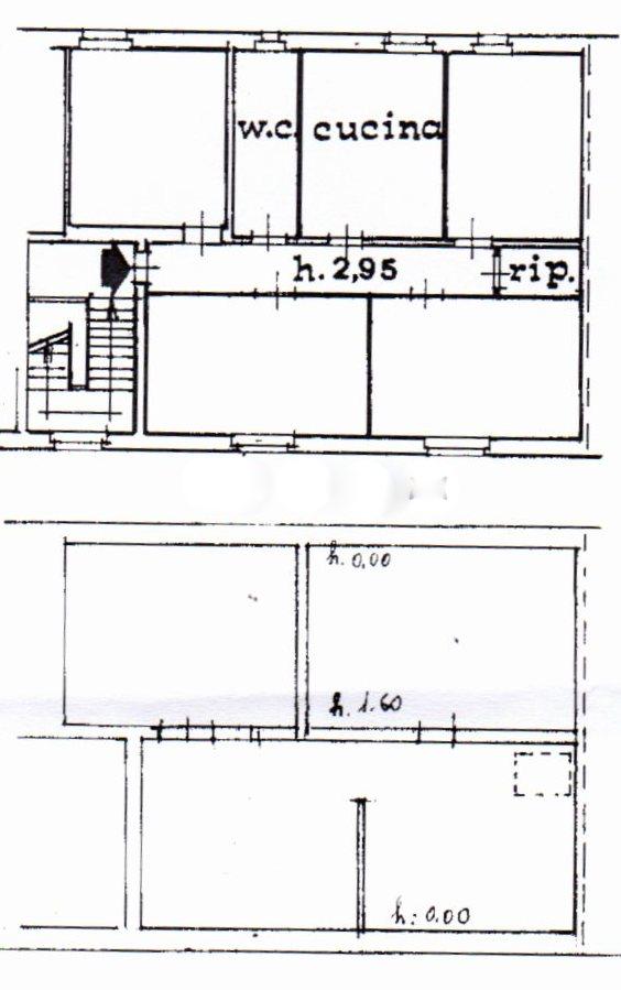 Planimetria /1 per rif. 1208