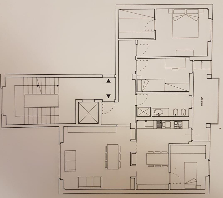 Planimetria /1 per rif. 1215