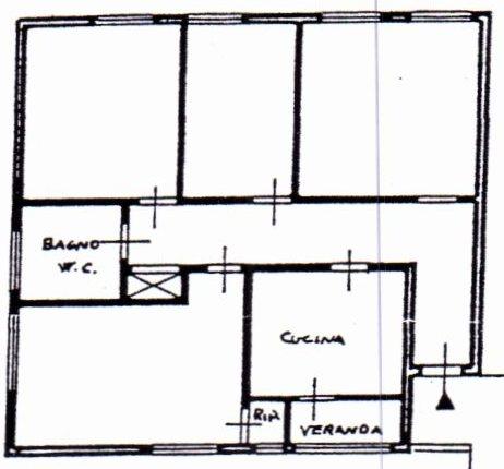 Planimetria /1 per rif. 1121