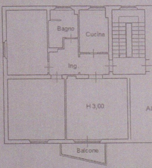 Planimetria /1 per rif. 1125