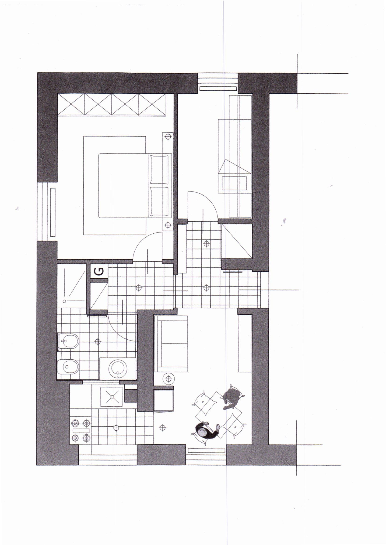 Planimetria /1 per rif. 1217
