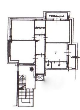 Planimetria /1 per rif. 1134