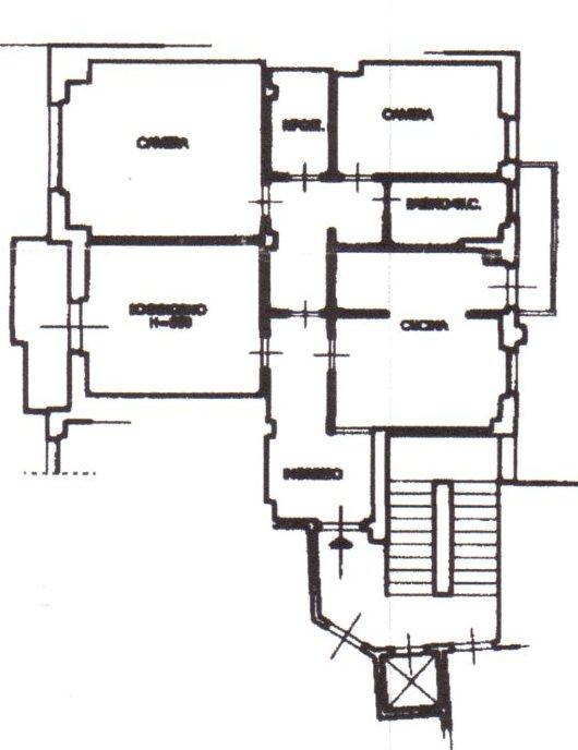 Planimetria /1 per rif. 1135
