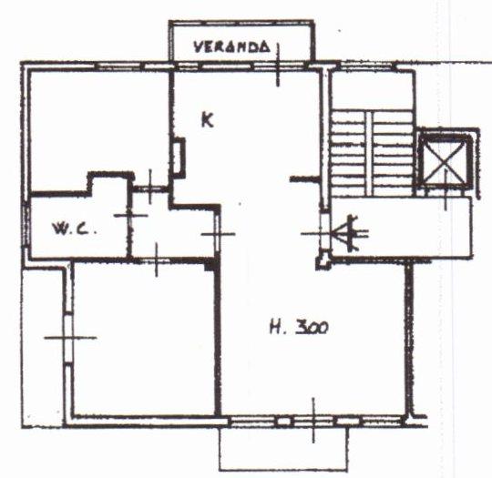 Planimetria /1 per rif. 1138