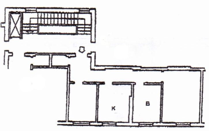 Planimetria /1 per rif. 1223