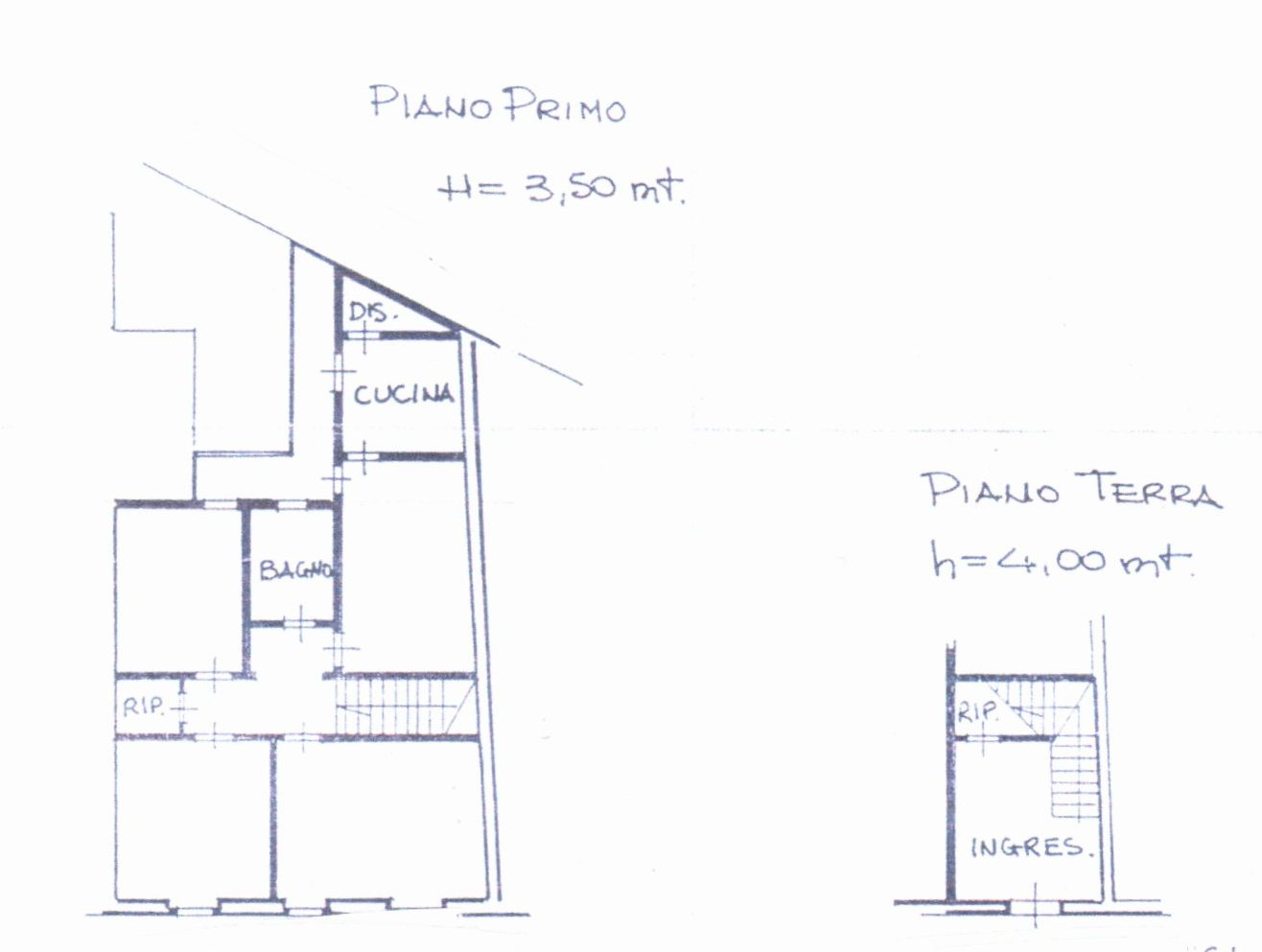 Planimetria /1 per rif. 1230
