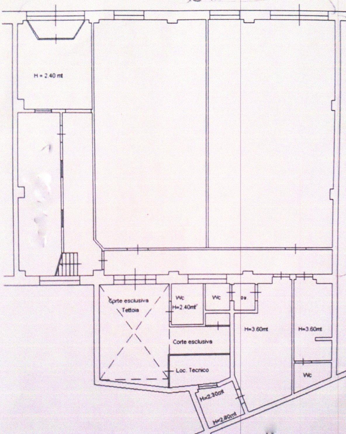 Planimetria /1 per rif. 1152