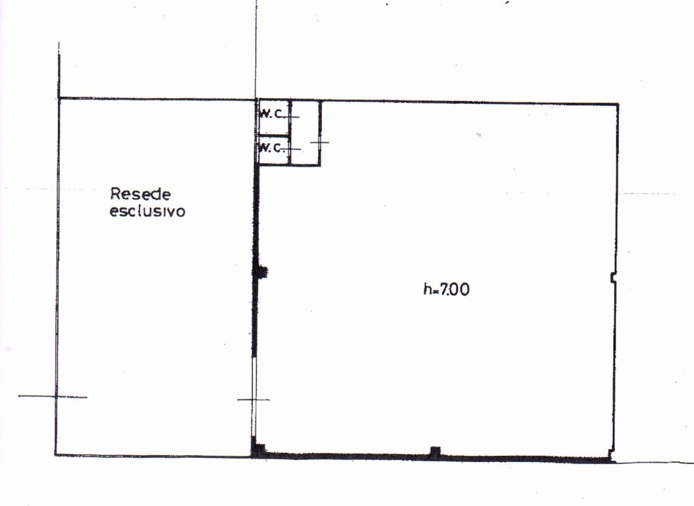 Planimetria /1 per rif. 1155