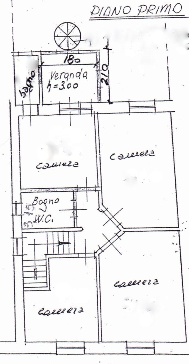 Planimetria /2 per rif. 1233