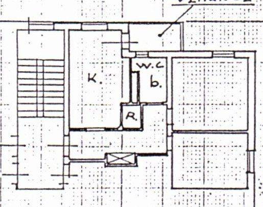 Planimetria /1 per rif. 1165
