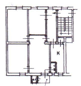 Planimetria /1 per rif. 1235