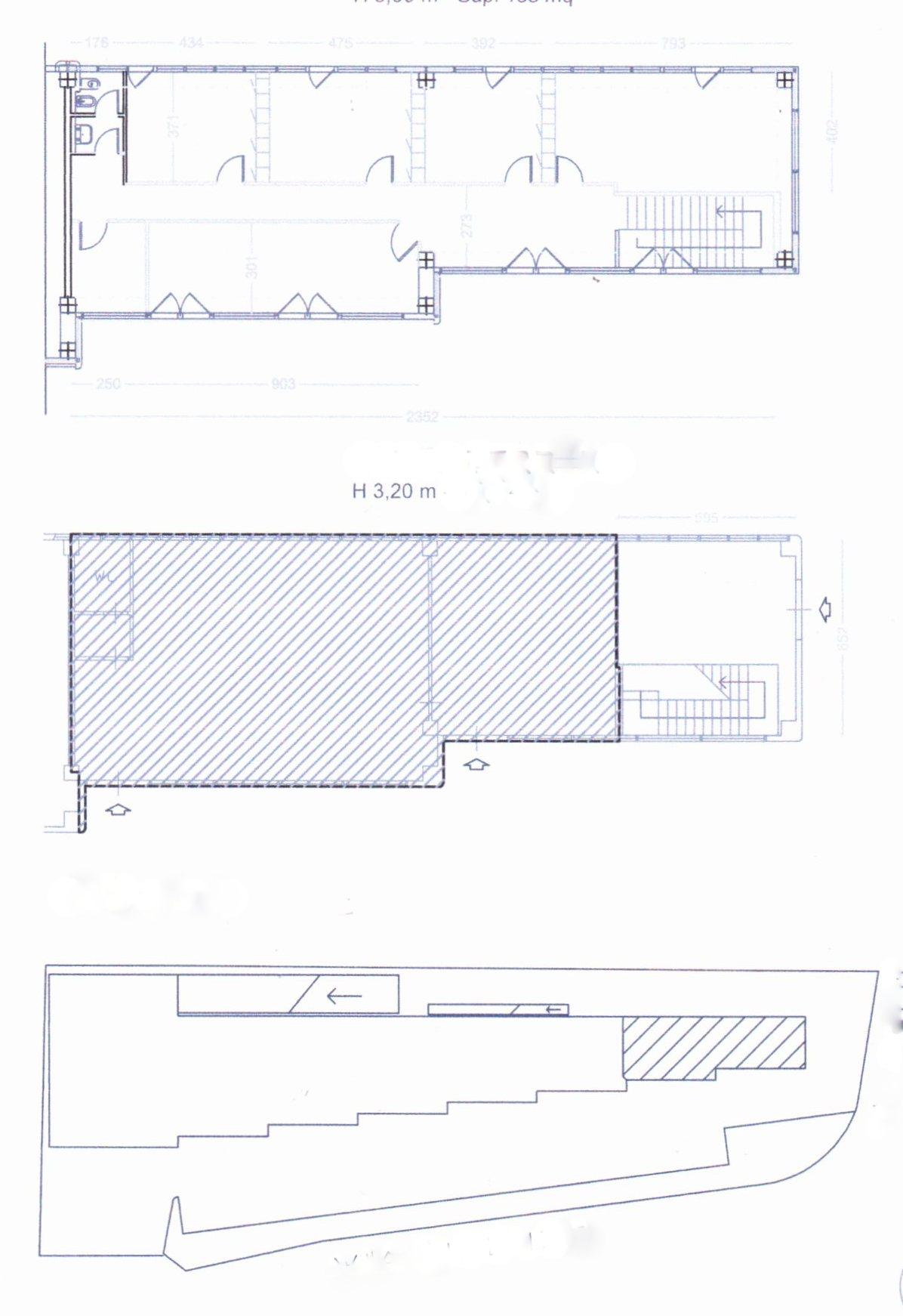 Planimetria /1 per rif. 1238