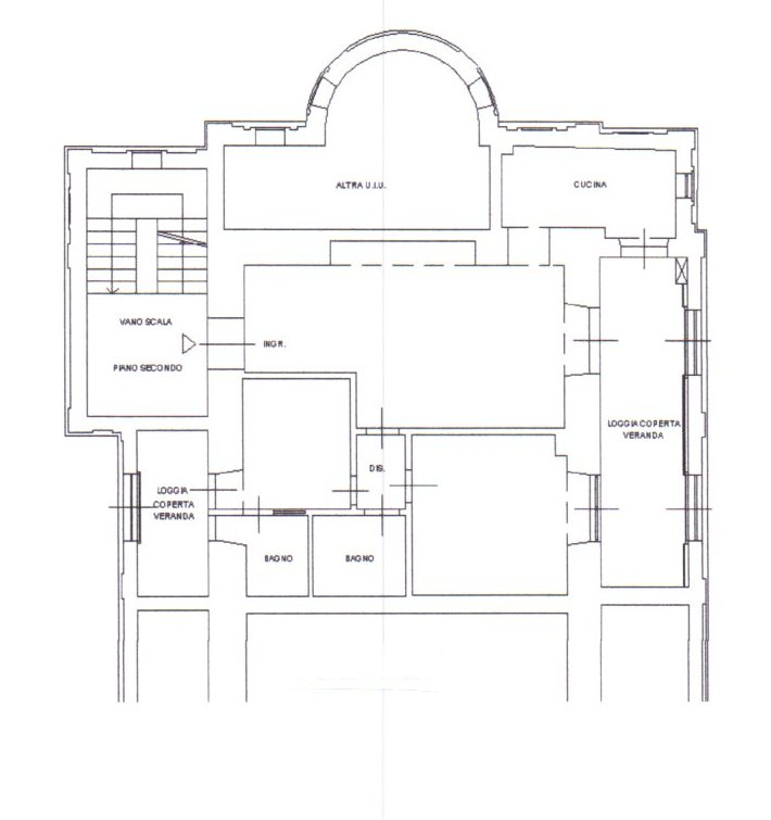 Planimetria /1 per rif. 839