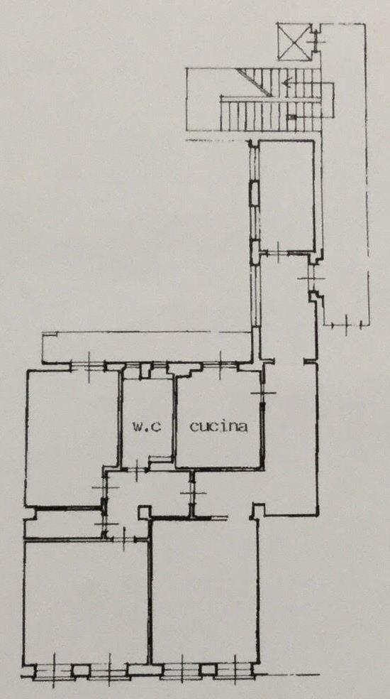 Planimetria /1 per rif. 1239